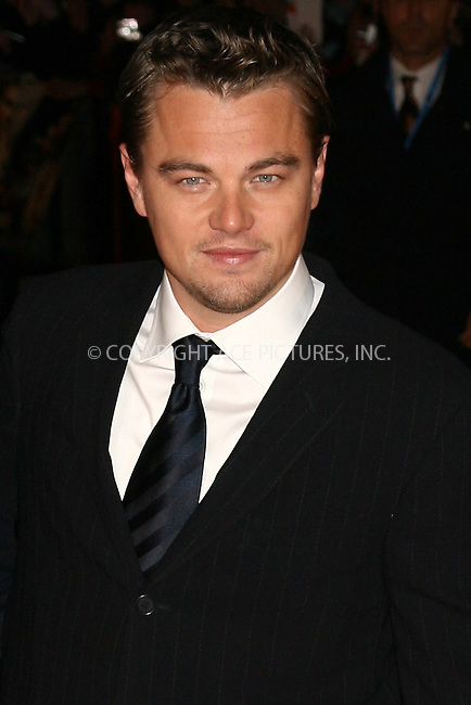 Leonardo DiCaprio at the uk premiere of 'Blood Diamond' at Odeon Leicester Square, London - 23 January 2007 ..FAMOUS PICTURES AND FEATURES AGENCY 13 HARWOOD ROAD LONDON SW6 4QP UNITED KINGDOM tel +44 (0) 20 7731 9333 fax +44 (0) 20 7731 9330 e-mail info@famous.uk.com www.famous.uk.com .FAM19437