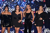 Little Mix - Leigh-Anne Pinnock, Jesy Nelson, Jade Thirlwall and Perrie Edwards<br /> 'Global Awards 2019' at the Hammersmith Palais in London, England on March 07, 2019.<br /> CAP/PL<br /> &copy;Phil Loftus/Capital Pictures