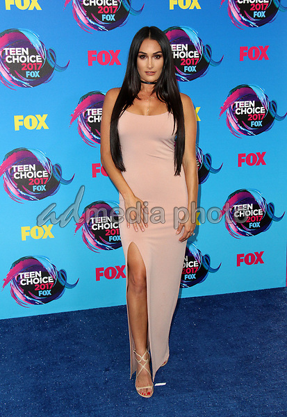 13 August 2017 - Los Angeles, California - Nikki Bella. Teen Choice Awards 2017 Arrivals held at The Galen Center in Los Angeles. Photo Credit: AdMedia