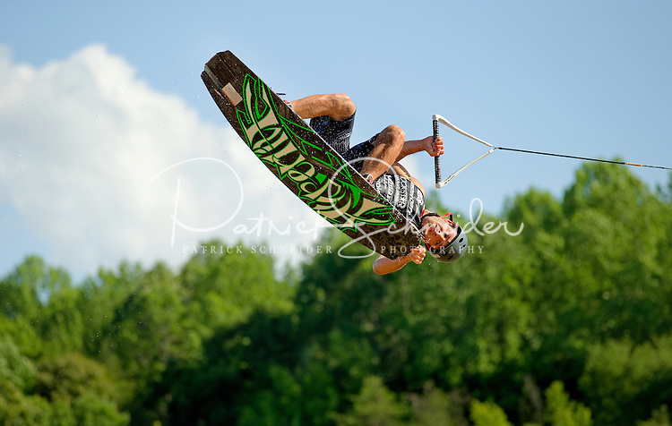 MasterCraft Pro Wakeboard Tour members grabbed some air on Lake Norman on  Friday at the MasterCraft