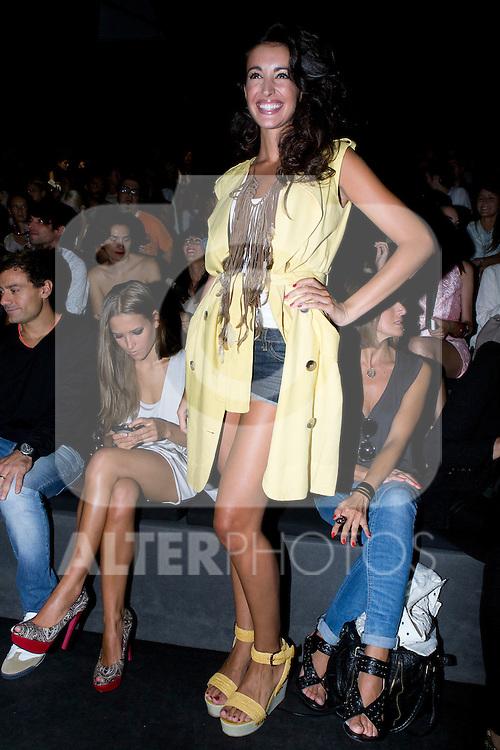 01.09.2012. Celebrities attending the AA de Amaya Arzuaga fashion show during the Mercedes-Benz Fashion Week Madrid Spring/Summer 2013 at Ifema. In the image Noelia Lopez (Alterphotos/Marta Gonzalez)