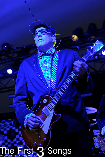 Rick Nielsen of Cheap Trick performs during Day 3 of the Voodoo Experience at City Park in New Orleans, Louisiana on October 30, 2011.