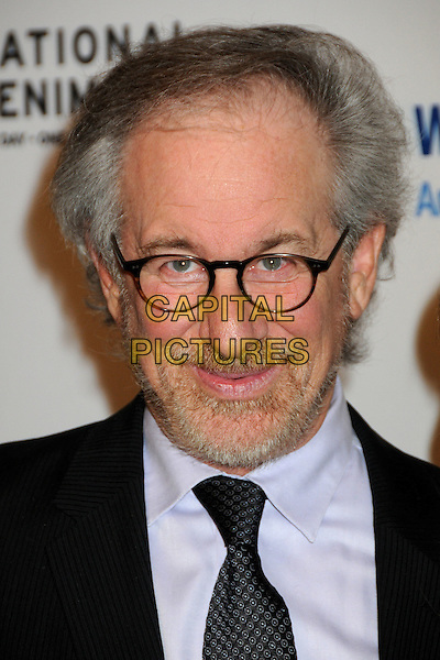 STEVEN SPIELBERG.EIF's Women's Cancer Research Fund Benefit held at the Beverly Wilshire Hotel, Beverly Hills, California, USA..January 27th, 2010.headshot portrait black purple glasses beard facial hair .CAP/ADM/BP.©Byron Purvis/AdMedia/Capital Pictures.
