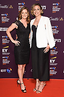 Helen Richardson-Walsh &amp; Kate Richardson-Walsh at the BT Sport Industry Awards 2017 at Battersea Evolution, London, UK. <br /> 27 April  2017<br /> Picture: Steve Vas/Featureflash/SilverHub 0208 004 5359 sales@silverhubmedia.com