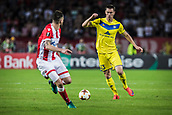 14th September 2017, Red Star Stadium, Belgrade, Serbia; UEFA Europa League Group stage, Red Star Belgrade versus BATE; Forward Nikolai Signevich of FC BATE Borisov with ball