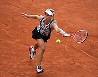 Paris, France, 24 June, 2016, Tennis, Roland Garros,   Kerber of Germany in the first round<br /> Photo: Henk Koster/tennisimages.com