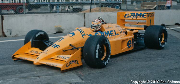 Nelson Piquet, Lotus 100T, Detroit 1988