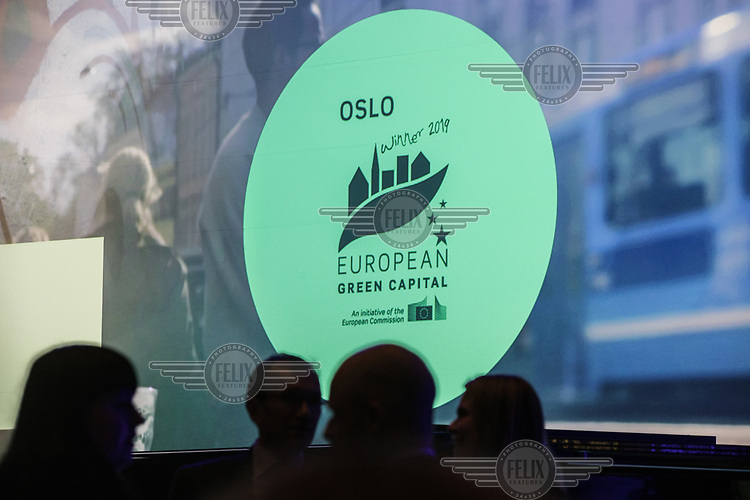 On Friday, 4 January 2019 Oslo European Green Capital 2019 commenced with a formal closed ceremony at the Oslo City Hall. The baton was passed on by Nijmegen in the Netherlands, which was European Green Capital in 2018.<br /> <br /> <br /> &copy; Fredrik Naumann/Felix Features