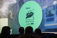 On Friday, 4 January 2019 Oslo European Green Capital 2019 commenced with a formal closed ceremony at the Oslo City Hall. The baton was passed on by Nijmegen in the Netherlands, which was European Green Capital in 2018.<br /> <br /> <br /> © Fredrik Naumann/Felix Features