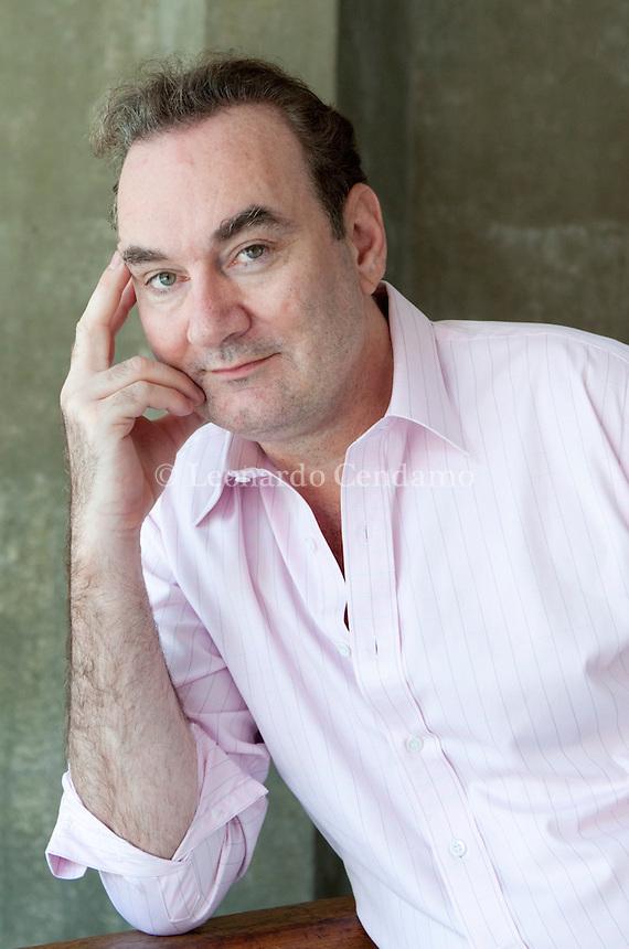 Laurence Osborne, writer, Milanesiana 2010-  © Leonardo Cendamo