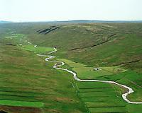 Neðri-Núpur séð til suðurs, Húnaþing vestra áður Fremri-Torfustaðahreppur / Nedri-Nupur viewing south, Hunathing vestra former Fremri-Torfustadahreppur.