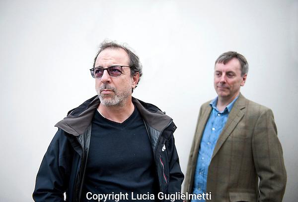 Utrecht, september 28, 2012.NFF Utrecht, .Nick James (rechts),Semih Kaplanoglu..Photo: Lucia Guglielmetti