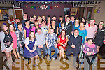 Enjoying his 21st birthday was Tommy Leane from Abbeyfeale, pictured here with family and friends last Saturday night in O'Riordan's Bar, Abbeyfeale.