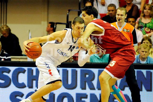 GRONINGEN - basketbal,  Martiniplaza  Gasterra Flames -   Den Bosch halve finale playoff seizoen 2010-2011  10-05-2011