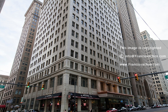 The Ford building is seen in Detroit (Mi) Saturday June 8, 2013. Designed by Daniel Burnham, the Ford Building is a high-rise office building at 615 Griswold Street, in downtown Detroit, Michigan.