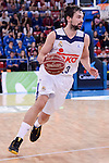 Real Madrid's Sergio Llull during Quarter Finals match of 2017 King's Cup at Fernando Buesa Arena in Vitoria, Spain. February 16, 2017. (ALTERPHOTOS/BorjaB.Hojas)