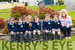 Sneem School<br /> L-R: Laura Salak, Haylee Casey, Gabija Knyzaite, Sarah and Ois&iacute;n O'Sullivan and Kitty Cahill. Missing from photo is Sadie Casey. <br /> Teacher - Claudine O'Sullivan Davies.