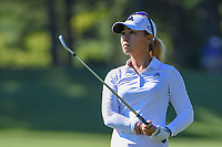 Danielle Kang (USA) watches her tee shot on 3 during round 1 of the 2018 KPMG Women's PGA Championship, Kemper Lakes Golf Club, at Kildeer, Illinois, USA. 6/28/2018.<br /> Picture: Golffile | Ken Murray<br /> <br /> All photo usage must carry mandatory copyright credit (&copy; Golffile | Ken Murray)