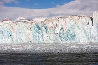 front glacier, Spitsbergen, Svalbard, Norway, Arctic Ocean