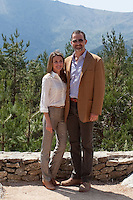 "Felipe and Princess Letizia of Spain visit  ""National Park"""