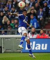 FUSSBALL   1. BUNDESLIGA   SAISON 2012/2013    27. SPIELTAG FC Schalke 04 - TSG 1899 Hoffenheim                       30.03.2013 Michel Bastos (FC Schalke 04)