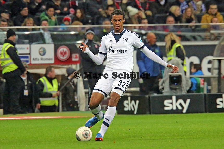 Joel Matip (Schalke) - Eintracht Frankfurt vs. FC Schalke 04, Commerzbank Arena