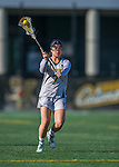 30 March 2016: University of Vermont Catamount Attacker Jenna Janes, a Freshman from Baltimore, MD, in second half action against the Manhattan College Jaspers at Virtue Field in Burlington, Vermont. The Lady Cats defeated the Jaspers 11-5 in non-conference play. Mandatory Credit: Ed Wolfstein Photo *** RAW (NEF) Image File Available ***