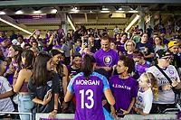 Orlando, FL - Saturday August 17, 2019: Alex Morgan Orlando Pride vs Utah Royals FC at Exploria Stadium.