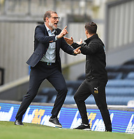 West Bromwich Albion's Manager Slaven Bilic<br /> <br /> Photographer Dave Howarth/CameraSport<br /> <br /> The EFL Sky Bet Championship - Blackburn Rovers v West Bromwich Albion - Saturday 11th July 2020 - Ewood Park - Blackburn <br /> <br /> World Copyright © 2020 CameraSport. All rights reserved. 43 Linden Ave. Countesthorpe. Leicester. England. LE8 5PG - Tel: +44 (0) 116 277 4147 - admin@camerasport.com - www.camerasport.com