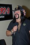 Vinnie Paul of Hellyeah performs at the Rock Vegas Music Festival at Mandalay Bay in Las Vegas, Nevada.