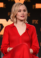 """PASADENA, CA - JANUARY 9: Cast member Alison Pill attends the panel for """"Devs"""" during the FX Networks presentation at the 2020 TCA Winter Press Tour at the Langham Huntington on January 9, 2020 in Pasadena, California. (Photo by Frank Micelotta/FX Networks/PictureGroup)"""