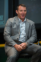 Jim Thome was honored for his induction into the Charlotte Baseball Roundtable of Honor at the Triple-A All-Star Game Luncheon at the Charlotte Convention Center on July 12, 2016 in Charlotte, North Carolina.   (Brian Westerholt/Four Seam Images)