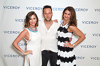 """Jessica Levy, Jeremy Penn, and Kiara Horowitz attend """"The Gaze"""" Exhibition by Jeremy Penn At L'Ermitage Beverly Hills"""