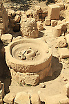 Samaria, an Oil Press at a Roman-Byzantine villa in Tel Shiloh