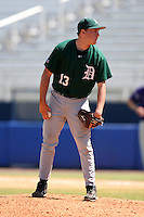 March 23, 2010:  Pitcher Cole Sulser of the Dartmouth Big Green during a game at the Chain of Lakes Stadium in Winter Haven, FL.  Photo By Mike Janes/Four Seam Images