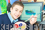 Doodle 4 Google: Wayne Hayes, Ballybunion was one of four young Kerry artists chosen to get a chance to display their design on the Google Internet search engine sight on St Patrick's Day.