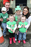 The Barry Family at the 2010 St Patrick's Day Parade...Photo NEWSFILE/Jenny Matthews.(Photo credit should read Jenny Matthews/NEWSFILE)....This Picture has been sent you under the condtions enclosed by:.Newsfile Ltd..The Studio,.Millmount Abbey,.Drogheda,.Co Meath..Ireland..Tel: +353(0)41-9871240.Fax: +353(0)41-9871260.GSM: +353(0)86-2500958.email: pictures@newsfile.ie.www.newsfile.ie.FTP: 193.120.102.198.