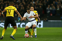 Harry Winks of Tottenham Hotspur during Tottenham Hotspur vs Borussia Dortmund, UEFA Champions League Football at Wembley Stadium on 13th February 2019