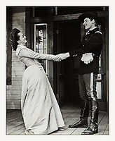 1941 black-and-white American western film from Warner Bros. Pictures, produced by Hal B. Wallis and Robert Fellows, directed by Raoul Walsh, that stars Errol Flynn and Olivia de Havilland. <br /> The film's storyline offers a highly fictionalized account of the life of Gen. George Armstrong Custer, from the time he enters West Point military academy through the American Civil War and finally to his death at the Battle of the Little Bighorn. Custer is portrayed as a fun-loving, dashing figure who chooses honor and glory over money and corruption. The battle against Chief Crazy Horse is portrayed as a crooked deal between politicians and a corporation that wants the land Custer promised to the Indians. <br /> Despite its historical inaccuracies, the film was one of the top-grossing films of 1941. They Died with Their Boots On was the eighth film collaboration between Errol Flynn and Olivia de Havilland. <br /> CAP/MPI/HPA<br /> ©HPA/MPI/Capital Pictures