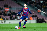 30th January 2020; Camp Nou, Barcelona, Catalonia, Spain; Copa Del Rey Football, Barcelona versus Leganes; Clement Lenglet of FC gets his shot towards goal