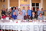 Enjoying the 80th Birthday celebrations of Una Mulvihill, Athea in the Listowel Arms Hotel on Saturday night were Front Row L-R: Jim Mulvihill, Lisselton, Eddy Mulvihill, Finagle, Una Mulvihill, Kathleen Barrett, Athea and Florence O'Connor, Kilmorna. Back Row L-R: Donna Hanlon, Karen O'Sullivan, Gemma Barrett, Listowel, Kieran Mulvihill, Finuge, Eamon Mulvihill, Listowel, Ciara Mulvihill, Lisselton, Mickie Mulvihill, Padraig Mulvihill, Willie O'Connor, Bridie Mulvihill, Listowel, Tommy Barrett, Athea and Deborah Mulvihill, Listowel.