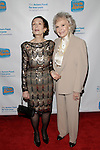 LOS ANGELES - DEC 4: Margaret O'Brien, June Lockhart at The Actors Fund's Looking Ahead Awards at the Taglyan Complex on December 4, 2014 in Los Angeles, California