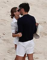 Olivia Parlermo & Johannes Huebl got engaged during Saint Bart's vacation