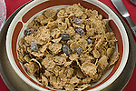 Raisin bran breakfast cereal