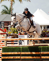 Indigo ridden by Margie Engle,  USEF trials#2 Wellington Florida. 3-22-2012