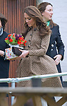 """CATHERINE, DUCHESS OF CAMBRIDGE PREGNANT .An official staement by Buckingham Palace confirmed Kate's pregnancy. However, no date of birth has been given...CATHERINE, DUCHESS OF CAMBRIDGE.as Patron of Art Room visits the Oxford Spires Academy School, Oxford_21/02/2012.Kate almost came a cropper when the wind caught her dress..MANDATORY PHOTO CREDIT:©FRANCIS DIAS - NEWSPIX INTERNATIONAL..Mandatory credit photo:NEWSPIX INTERNATIONAL(Failure to credit will incur a surcharge of 100% of reproduction fees)..**ALL FEES PAYABLE TO: """"NEWSPIX  INTERNATIONAL""""**..Newspix International, 31 Chinnery Hill, Bishop's Stortford, ENGLAND CM23 3PS.Tel:+441279 324672.Fax: +441279656877.Mobile:  07775681153.e-mail: info@newspixinternational.co.uk"""