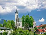 Kości&oacute;ł św. Michała Archanioła, Mszana Dolna, Polska<br /> Saint Archangel Michael Church, Mszana Dolna, Poland