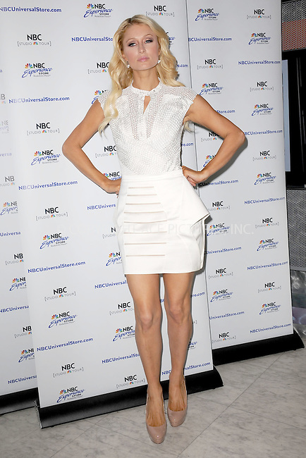 WWW.ACEPIXS.COM . . . . . .June 1, 2011...New York City...Paris Hilton promotes the new TV show 'The World According to Paris' at the NBC Experience Store on June 1, 2011 in New York City....Please byline: KRISTIN CALLAHAN - ACEPIXS.COM.. . . . . . ..Ace Pictures, Inc: ..tel: (212) 243 8787 or (646) 769 0430..e-mail: info@acepixs.com..web: http://www.acepixs.com .