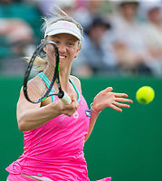 Mona Barthel in action<br /> <br /> Photographer Alex Dodd/CameraSport<br /> <br /> Tennis - WTA World Tour - Nature Valley Open Tennis Tournament - Day 3 - Wednesday 13th June 2018 - Nottingham Tennis Centre - Nottingham<br /> <br /> World Copyright &copy; 2018 CameraSport. All rights reserved. 43 Linden Ave. Countesthorpe. Leicester. England. LE8 5PG - Tel: +44 (0) 116 277 4147 - admin@camerasport.com - www.camerasport.com
