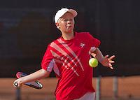 Netherlands, Rotterdam August 05, 2015, Tennis,  National Junior Championships, NJK, TV Victoria, Bastiaan Weststrate<br /> Photo: Tennisimages/Henk Koster